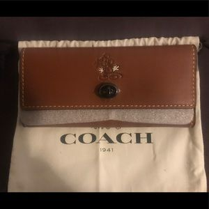 Coach x Disney Mickey Mouse Turnlock Wallet